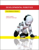 book cover featuring a robotic baby